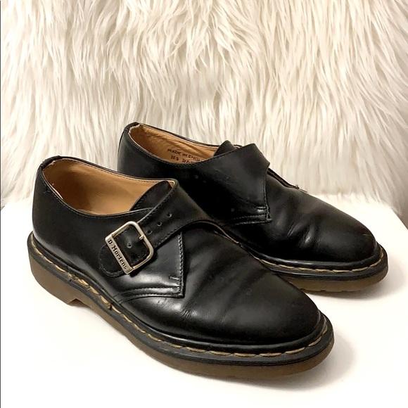 Dr. Martens The Original Leather Black Shoes